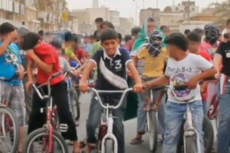 Imagem de um vídeo divulgado pela CNN