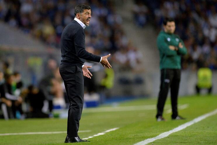 """Conceição assume culpa e diz que não será """"um problema no F. C. Porto"""""""