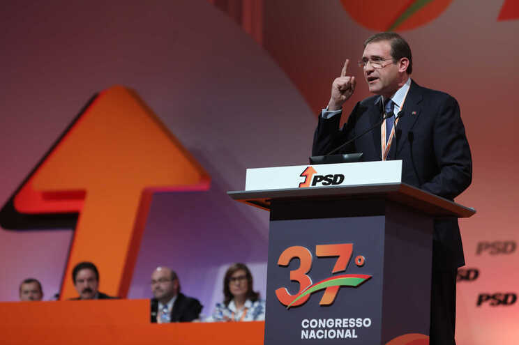 Passos Coelho, no discurso de abertura do 37.º Congresso do PSD