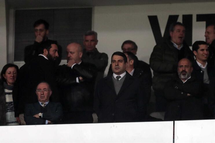 As declarações do presidente vimaranense já geraram uma reação do F. C. Porto