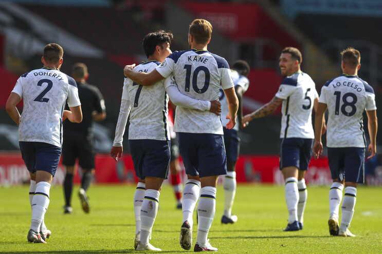 Tottenham venceu em Southampton
