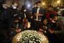 Homenagem às três vítimas mortais do atentado em Nice