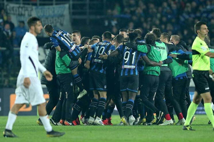 Atalanta supera Fiorentina e está pela quarta vez na final da Taça de Itália