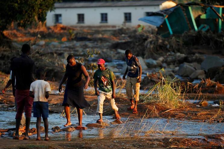 Sobreviventes do ciclone Idai