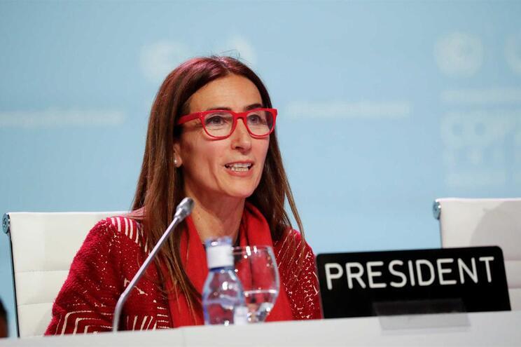 A presidente da COP25 em Madrid, Carolina Schmidt