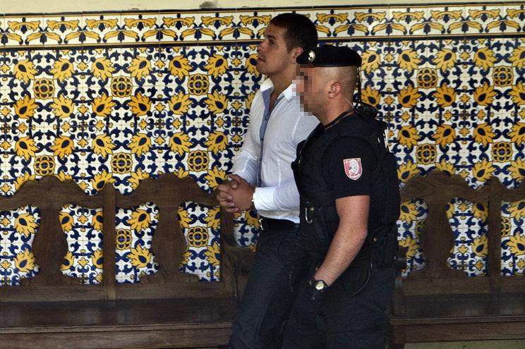 """Hélder """"Bianchi"""" em 2010, no Tribunal de S. João Novo"""