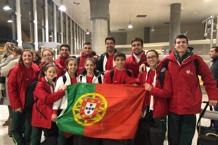Portugal vence Taças do Mundo de ginástica acrobática