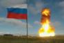 Imagem do lançamento do míssil, partilhada pelo Ministério da Defesa da Rússia