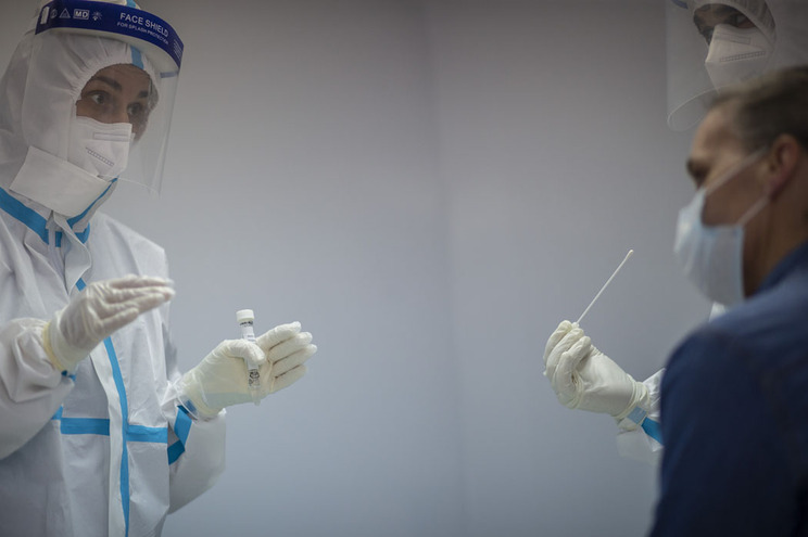 O caso de infeção foi detetado na sequência de uma deslocação da idosa às urgências do hospital de Beja