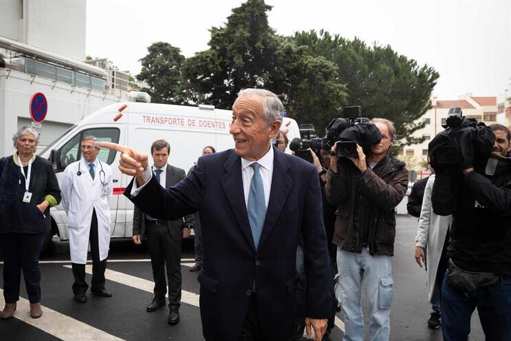 Marcelo quer saber se novo Governo quer continuar a ajudar os sem-abrigo