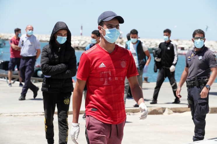 22 marroquinos chegaram, esta segunda-feira, ao Algarve