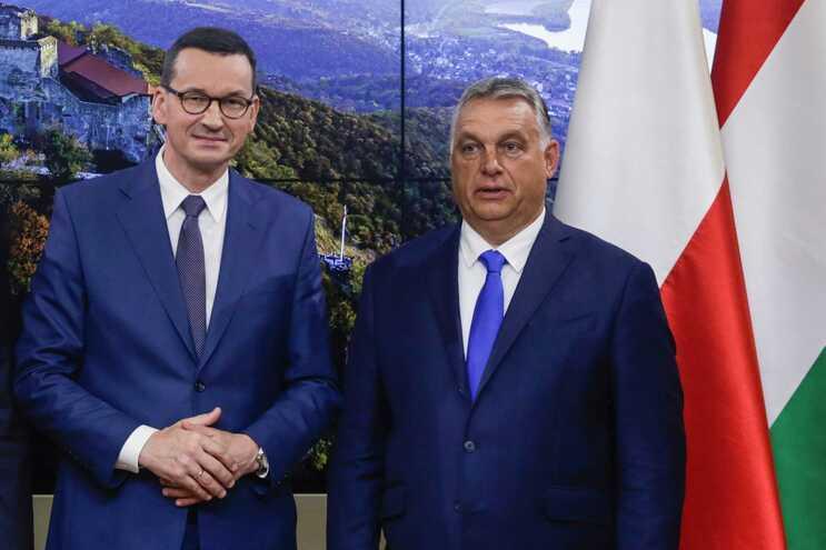Mateusz Morawiecki e Viktor Orbán