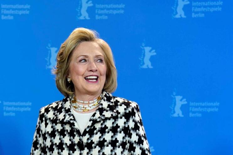 Hillary foi a Berlim falar sobre nova série sobre a sua vida