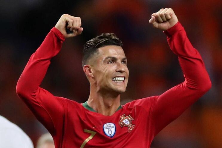 Os três melhores golos da Liga das Nações são de Cristiano Ronaldo