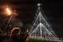 Aveiro já iluminou a maior árvore de Natal do país