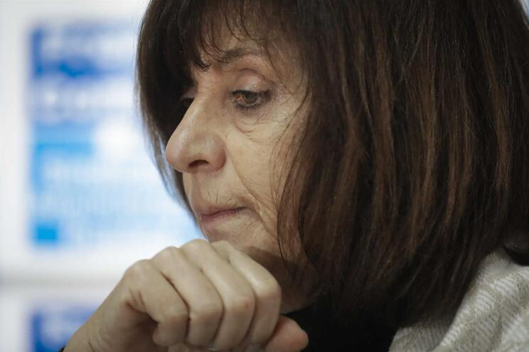 Ana Avoila, dirigente da Frente Comum