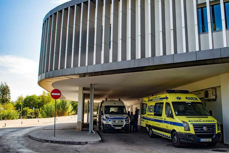 É o primeiro caso internado em Coimbra