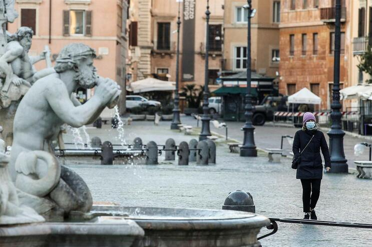Itália é o país europeu mais afetado