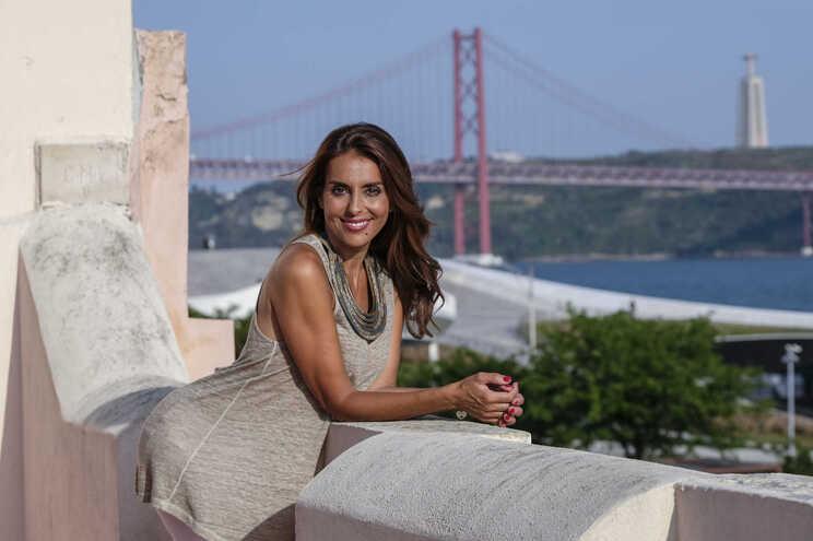 Catarina Furtado, apresentadora de televisão e embaixadora das Nações Unidas