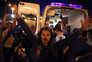 Confrontos entre manifestantes e forças policiais em Minsk
