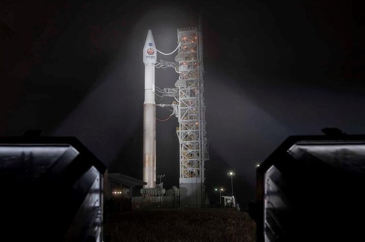 InSight deve chegar a Marte em Novembro
