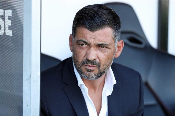 """Sérgio Conceição: """"Às vezes o treinador complica o jogo. Eu compliquei"""""""