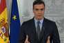 O presidente do Governo espanhol, Pedro Sánchez, anunciou, este sábado, a paralisação de todas as atividades
