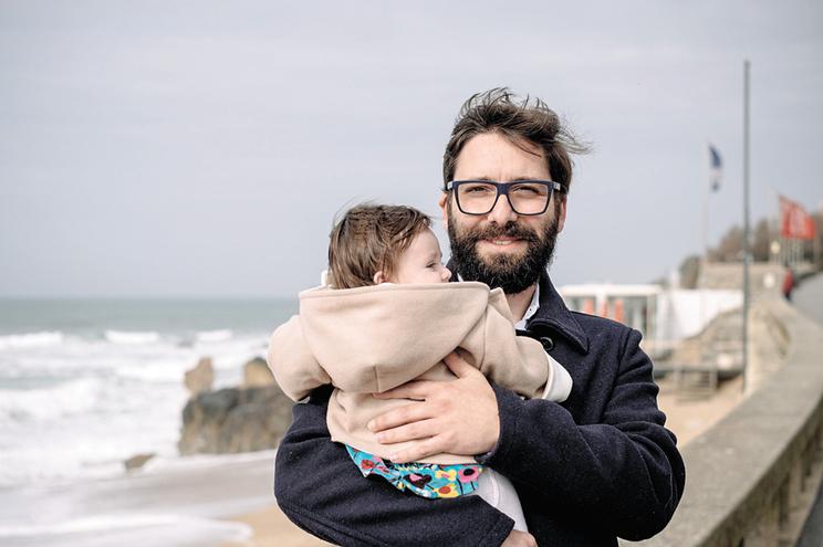João Pereira, após o nascimento da sua filha, usufruiu da licença de parentalidade