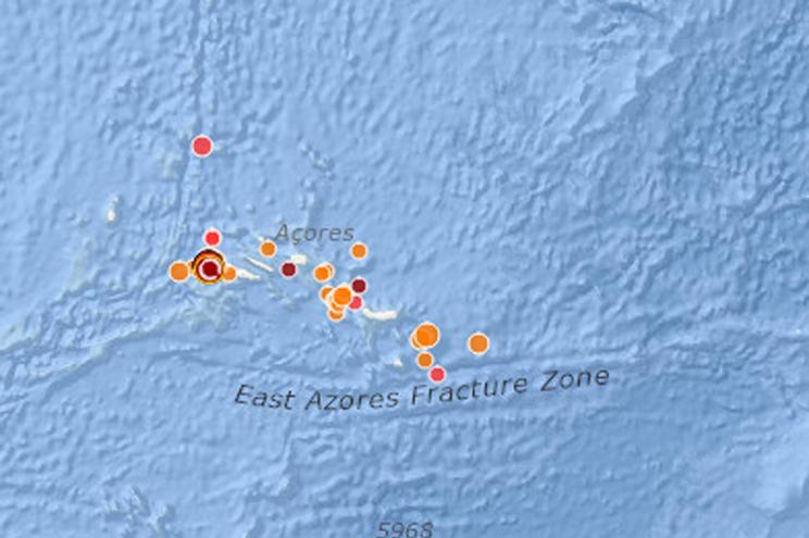 Segundo sismo no Faial em menos de 12 horas