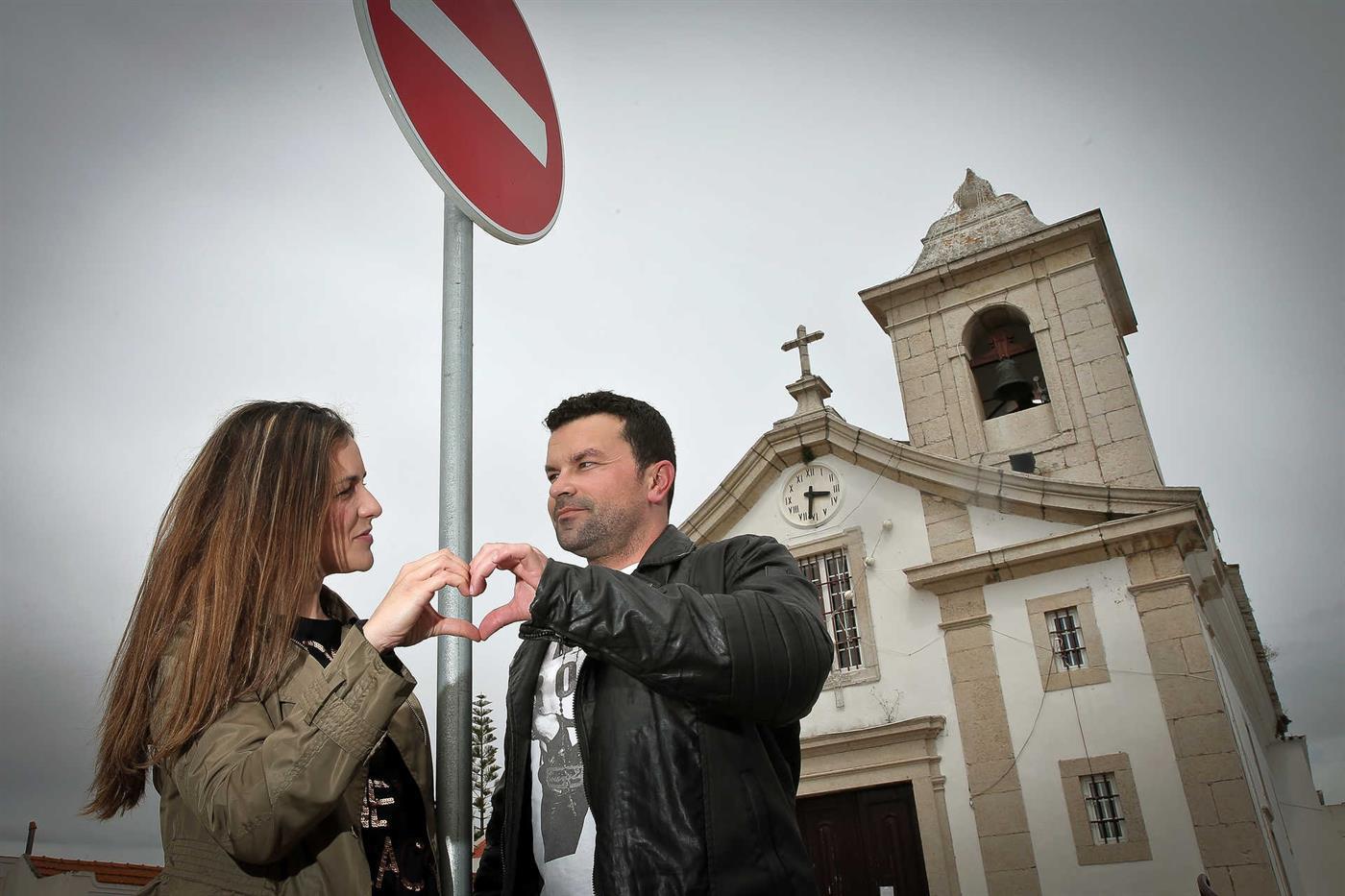 Andreia e Luís começaram a namorar ainda na adolescência