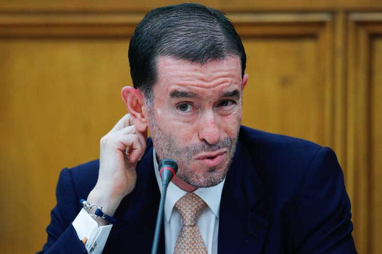 O presidente do Conselho de Administração  da Transportes Aéreos Portugueses (TAP), S.A., Miguel Frasquilho