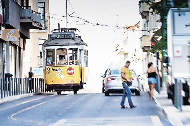 Caso aconteceu num elétrico em Lisboa, em 2018