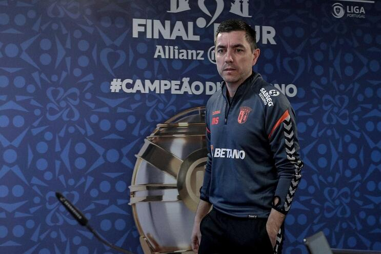 Micael Sequeira, treinador adjunto do Sp. Braga