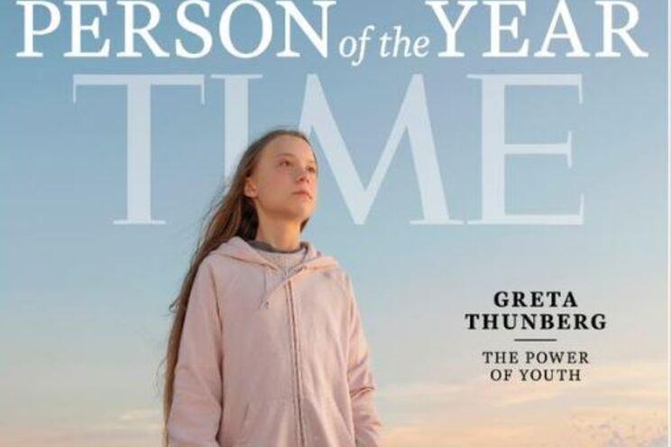 """Greta é a personalidade do ano para a revista """"Time"""". Foto foi tirada em Portugal"""