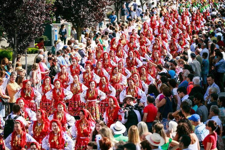 Mais de 600 mulheres no Desfile da Mordomia em Viana do Castelo
