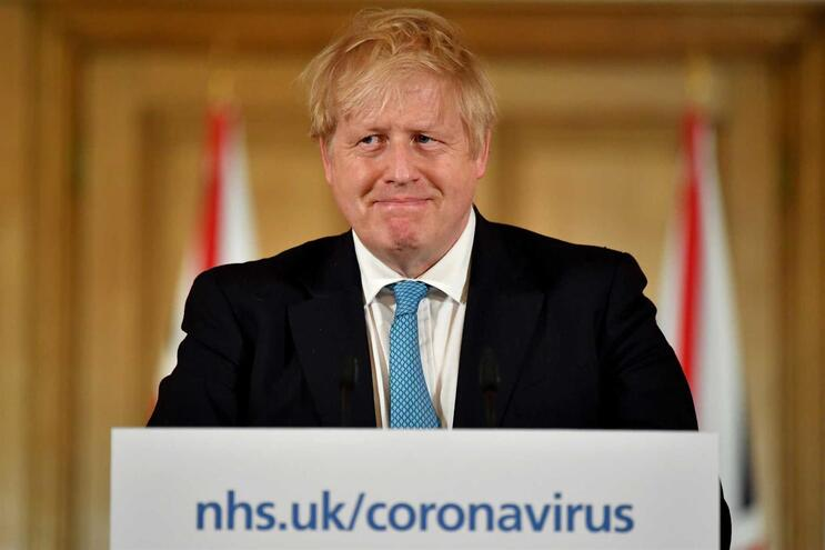 Boris Johnson, primeiro ministro do Reino Unido