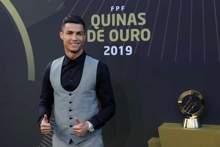 """Cristiano Ronaldo: """"Gostava que o Sporting tivesse vencido um prémiozinho"""""""