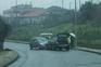 Choque frontal em Vila Verde