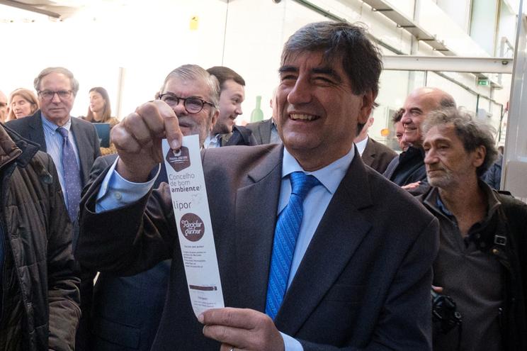 Secretário de Estado do Ambiente, Carlos Martins