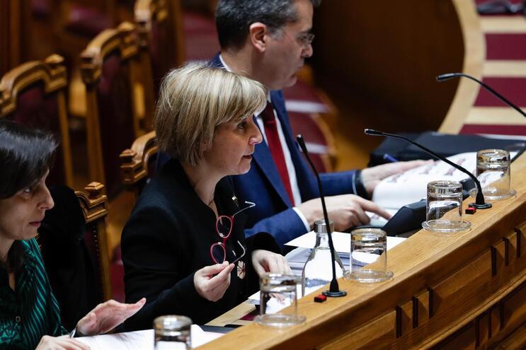 Marta Temido ouvida no Parlamento