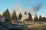 Veículo incendiou-se na A28