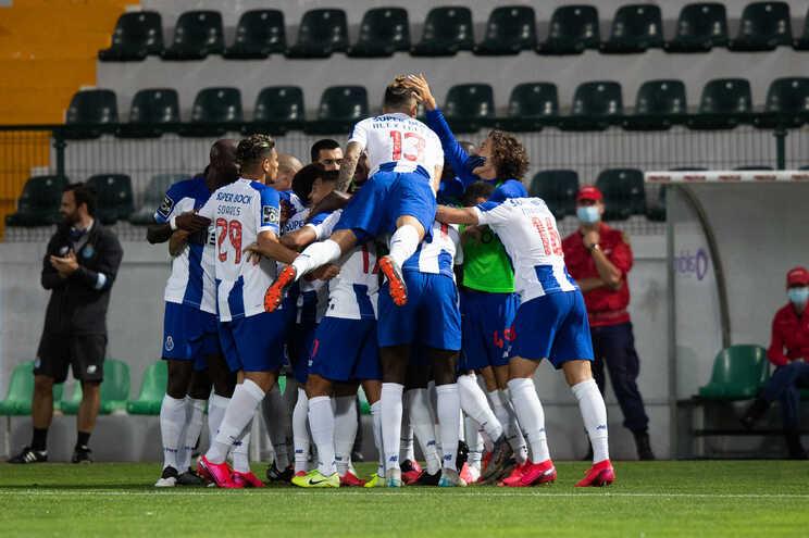 A vitória em Paços de Ferreira deixou os portistas ainda mais confortáveis no topo da classificação