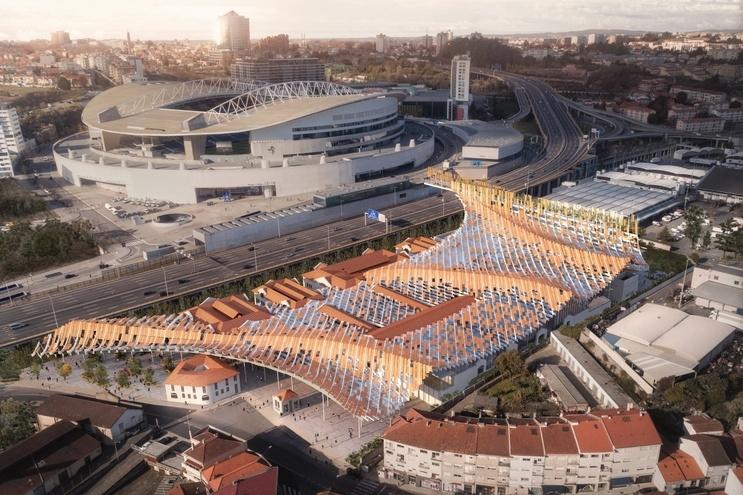 Projeto do Matadouro no Porto