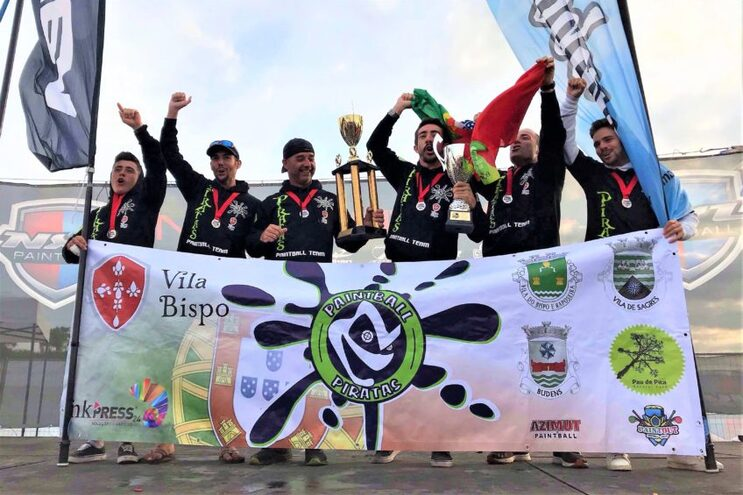 Piratas sagram-se campeões da Europa de paintball
