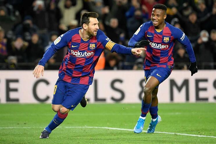Messi, jogador do Barcelona