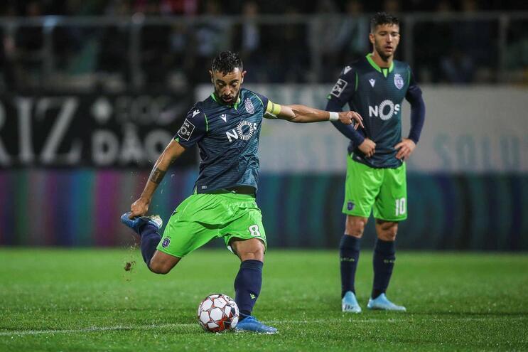 Bruno Fernandes fez o segundo golo do Sporting na Noruega