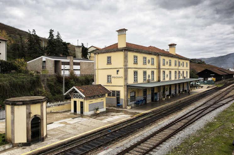 Estação Ferroviária do Pocinho, na Linha do Douro, onde vai passar o minério