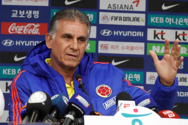 Carlos Queiroz, atual selecionador da Colômbia, esteve no comando técnico do Irão entre 2011 e 2019