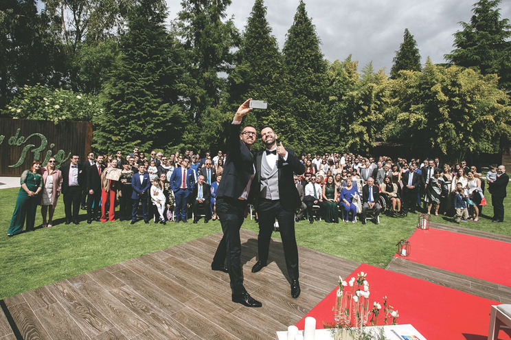 Hugo Correia e Carlos Ferreira casaram em abril de 2019