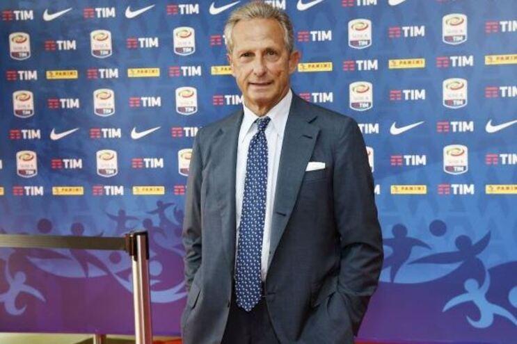 Gaetano Micciche, presidente da Série A italiana